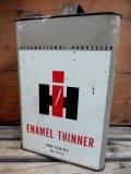 dp-131201-09 International Harvester / Vintage Enamel Thinner Can