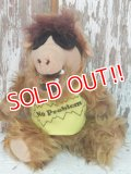 "ct-140415-20 ALF / 80's Plush doll ""No Problem"" Yellow"