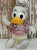 ct-140318-48 Daisy Duck / 80's Plush Doll