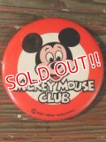 ct-140516-100 Mickey Mouse Club / 60's-70's Pinback