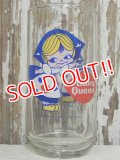 "gs-140510-01 Dairy Queen / 70's ""Little Miss Dairy Queen"" Novelty Glass"