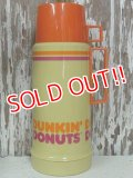 dp-140508-10 DUNKIN' DONUTS / 70's-80's Thermos