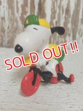 "ct-140624-07 Snoopy / Schleich 80's PVC ""Bicycle"""