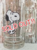"gs-140708-01 Snoopy / 70's Beer Mug ""Too much root beer!"""