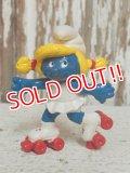 """ct-140715-15 Smurfette / PVC """"Roller skate"""" #20126"""