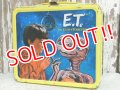 ct-140804-06 E.T. / Aladdin 80's Metal Lunchbox
