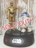 ct-140805-24 STAR WARS / Think way 1995 C-3PO & R2-D2 Talking Bank