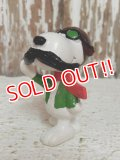 "ct-140624-07 Snoopy / Schleich 80's PVC ""Flying Ace"""