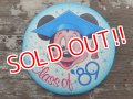 pb-130909-01 Mickey Mouse / Class of '89 Pinback