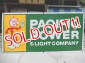 "dp-111215-04 Reddy Kilowatt / ""PACIFIC POWER & LIGHT COMPANY"" 60's sign"