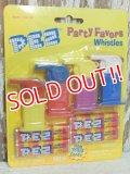 """pz-130917-04 PEZ / Party Favors """"Whistles"""""""
