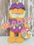 "ct-140909-25 Garfield / 90's Plush Doll ""Easter Egg"""