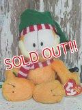 "ct-140909-25 Garfield / Ty Beanie Babies 2006 Plush Doll ""Christmas"""