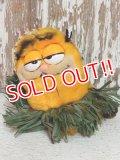 """ct-140909-25 Garfield / R.DAKIN 80's Plush Doll """"Hula"""""""