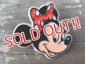 ct-140909-58 Minnie Mouse / 80's Face pinback