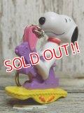 ct-141021-13 Snoopy / 2000's PVC Keychain (F)