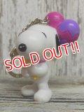 ct-141021-13 Snoopy / 2000's PVC Keychain (G)
