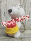 ct-141021-13 Snoopy / 2000's PVC Keychain (H)