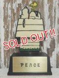 "ct-141028-22 Snoopy / AVIVA 70's Trophy ""PEACE"""