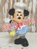 "ct-141209-78 Mickey Mouse / Bully PVC ""Chef"""