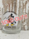 "gs-141217-09 Mickey Mouse /  Anchor Hocking 70's Mug ""Magician Mickey"""