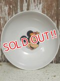 ct-141216-47 Mickey Mouse / 70's-80's Plastic Bowl