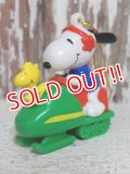 ct-141216-53 Snoopy / Whitman's 90's PVC Ornament (H)