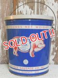 ct-150210-09 R.B.Rice Sausage Company / 50's Lard Tin Can
