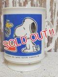 ct-150206-07 Snoopy / 70's-80's Plastic Mug