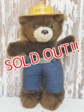 ct-150217-04 Smokey Bear / DAKIN 80's Plush Doll