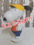 """ct-140624-07 Snoopy / Schleich 80's PVC """"Jogger"""""""