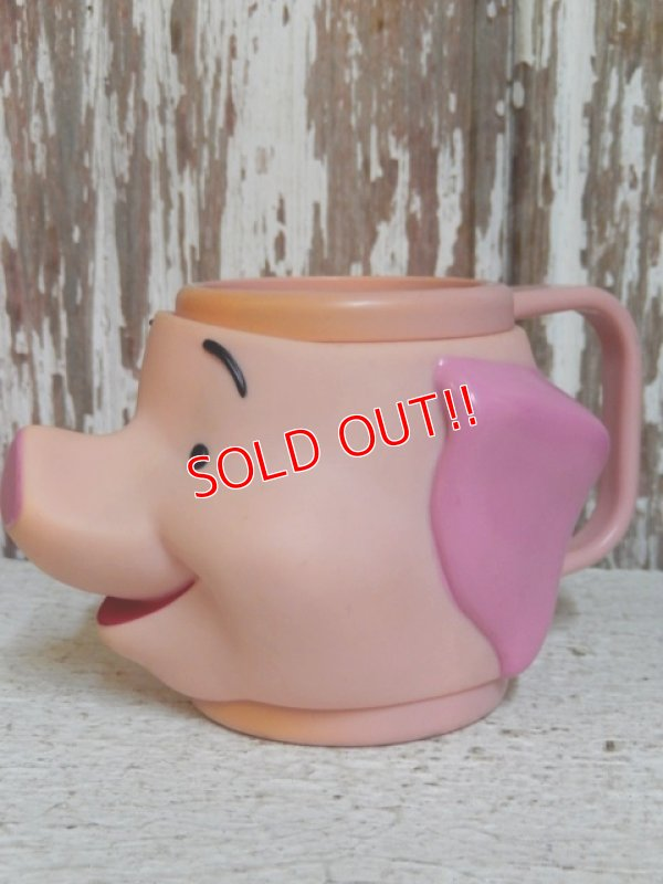 画像2: ct-150224-03 Piglet / Applause 90's Face Mug
