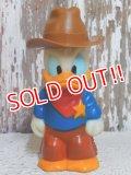 "ct-150310-47 Donald Duck / 90's Figure ""Sheriff"""