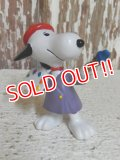 "ct-150311-17 Snoopy / Schleich PVC ""Painter"""
