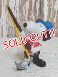 """ct-150311-17 Snoopy / Schleich PVC """"Fishing"""""""