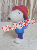 "ct-150310-71 Snoopy / Whitman's 2002 PVC ""Snoopy carries Woodstock"""