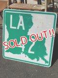 """dp-150501-09 Road sign """"LA 42"""""""