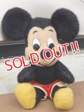 ct-150519-04 Mickey Mouse / 70's Plush Doll
