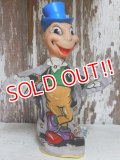 ct-150805-08 Jiminy Cricket / Gund 50's Hand Puppet