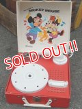 ct-150825-30 Mickey Mouse & Minnie Mouse / 60's-70's Record Player