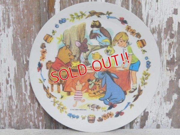 画像1: ct-150901-17 Winnie the Pooh / 70's Plastic Plate