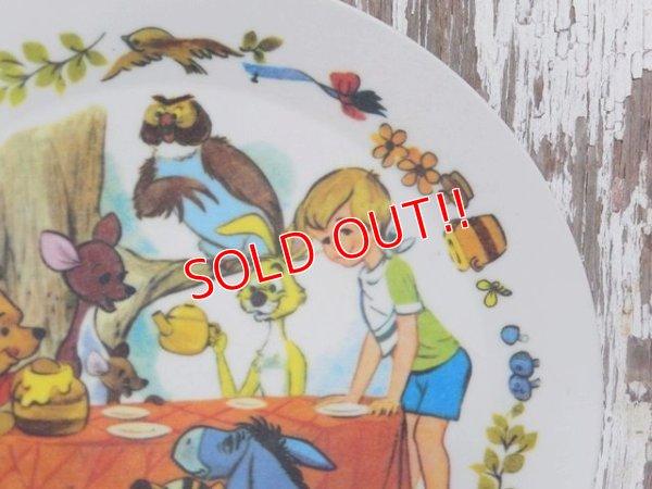 画像3: ct-150901-17 Winnie the Pooh / 70's Plastic Plate