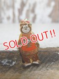 ct-150901-10 A&W / Great Root Bear 70's Enamel Pins