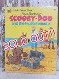 ct-150526-37 Scooby Doo / The Pirate Treasure Little Golden Book