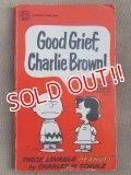 """bk-131029-01 PEANUTS / 1968 Comic """"Good Grief,Charlie Brown!"""""""