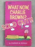 """bk-131029-01 PEANUTS / 1972 Comic """"WAHT NOW,CHARLIE BROWN?"""""""