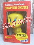 ct-150922-02 Tweety / Mattel 1976 Chatter Chums (Box)
