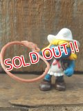 "ct-141028-57 Smurfette / PVC ""Cow Girl"" #20147"
