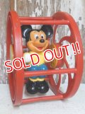 ct-150901-59 Mickey Mouse / 80's Wheel Toy