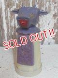 """ct-151008-05 Whirley / 60's-70's Moo-Cow Creamer """"Purple Cow"""""""